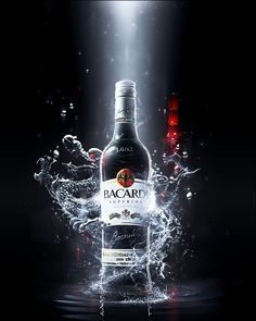 I found this image lying on my hard drive. I've created this some time ago as a Key Visual for Bacardi contest - 'Advertise Bacardi, fly to Ho. Bacardi - Shoot and Fly Ads Creative, Creative Advertising, Advertising Poster, Advertising Design, Product Advertising, Product Ads, Advertising Ideas, Advertising Campaign, Advertising Photography