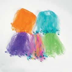 Colorful Be-A-Star Tutus - OrientalTrading.com