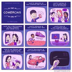 Comerciais  www.quadrinhosacidos.com.br