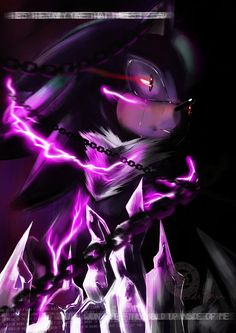 metal mephiles the dark | Mephiles The Dark #fan art