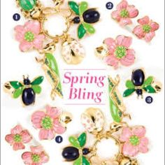 Lilly Pulitzer pink flower earrings Great used condition. Pink petals with green center and golden studs. The back and the trim is golden. Lilly Pulitzer Jewelry Earrings
