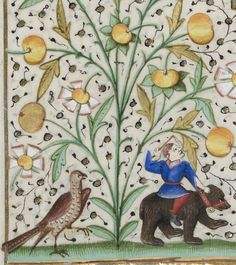 Bibliothèque nationale de France, Latin 1176, detail of f. 47v. Book of Hours, use of Paris. 15th century