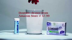 Buy denture cleaner form Clean Guard at just $7.99. You can also find this product on our Amazon Store. This product will help you in cleaning your mouth guard effectively.