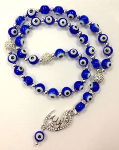 Hey, I found this really awesome Etsy listing at https://www.etsy.com/listing/170254126/blue-evil-eye-beads-islam-prayer-beads
