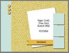 card sketch Paper Craft Crew PCCCS56