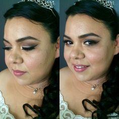 Maquillaje de novia romantica/natural.