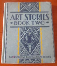 Art Stories Vintage Book Two 1934 Correlates with Dick Jane | eBay