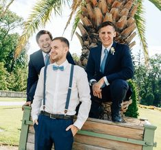Groom, best man and grooms man! Grooms, Margarita, Wedding, Style, Fashion, Casamento, Boyfriends, Moda, La Mode
