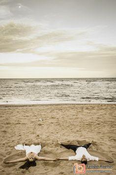 Ensaio pre casamento na praia   Marriage sunset beach