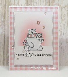 Kuni's Bastelblog : Beary Good Birthday