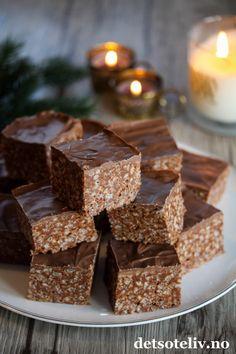 Krispie Treats, Rice Krispies, Crunches, Snacks, Cookies, Baking, Desserts, Slik, Recipes