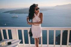 #PackingWithPaige in Santorini, Greece | @lusttforlife @glegan