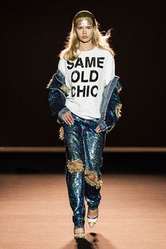 Fashion in Motion: ASHISH, October 2015 | Victoria and Albert Museum #Fashion #Catwalk
