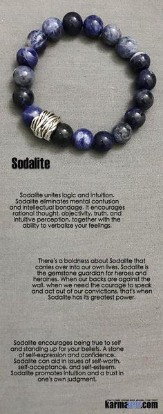 Yoga Bracelets Blue Sodalite. Manifesting  Meditation Tibetan Buddhist Beaded Mala Men & Women. #LOA Law of Attraction.