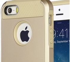 Tough Case for iPhone 5  Gold iPhone Case  iPhone by MyEliteCase, $13.95