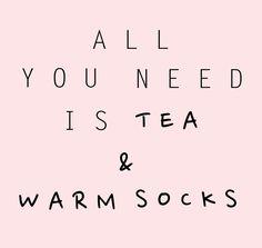 tea&socks