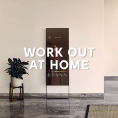 Take unlimited live and on-demand classes with the first nearly invisible, interactive home gym. Try MIRROR Today! Cardio At Home, Daily Home Workout, At Home Gym, Diy Crafts To Sell, Home Crafts, Woodworking Shop, Woodworking Plans, Diy Bedroom Decor, Diy Home Decor