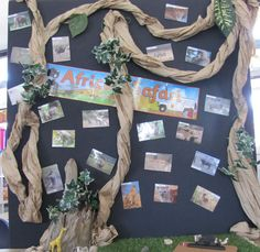 Brown paper bag tree - Irresistible Ideas for play based learning