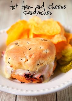 Hot Ham and Cheese Sandwiches Recipe from The Dairy Good Cookbook ...