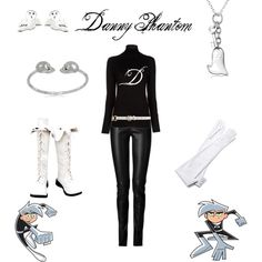 """Danny Phantom"" by when-your-stars-fall-down on Polyvore"