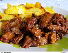Czech Recipes, Russian Recipes, Ethnic Recipes, Pork Recipes, Snack Recipes, Cooking Recipes, Snacks, Chicken Wings, Food And Drink