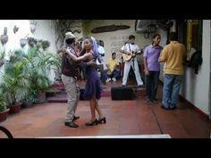 Son Cubano Tradicional - Onel and Yalenis at Patio de Los Dos Abuelos, Santiago de Cuba - YouTube