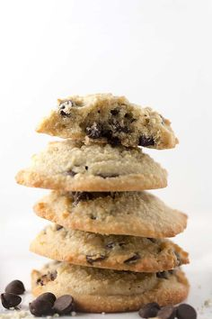 Keto Chocolate Chip Cookies • Low Carb with Jennifer