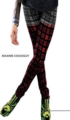 MAXIME COSSOGUY 2014 AFRO PUNK COLLECTION.