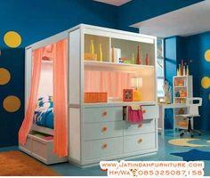 Tempat Tidur Anak Disain Bar Duco Minimalis
