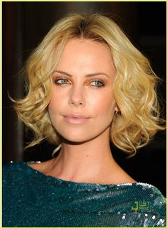 Charlize Theron - hair