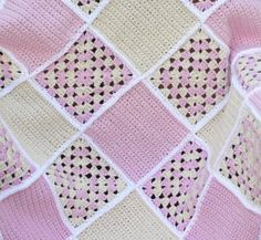 When I first opened my Etsy shop back in 2008, all I wanted to do was make baby blankets. I'm not exactly sure why I love to make them so much…probably all the different texture and col…