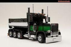 This is a Peterbilt 379 in 1:16 with working dump body, steering and driving. It…