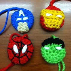 Christmas ornaments!  Good idea! not correct source though...