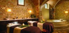 Red Wine Bath at hotel-castello-di-casole-spa