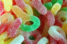 Sour ring sweets!