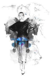 Fashion illustration. on Illustration Served