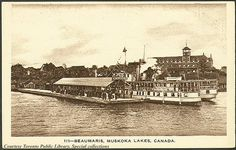Beaumaris is a small settlement in Ontario, Canada, on Lake Muskoka which once served as an important transit point during the steamship era on the lake, and once hosted a summer hotel, called the Beaumaris Hotel and a post office (postal code P0B 1B0). The settlement is located on Tondern Island which, though a true island is attached to the mainland by a small bridge at Milford Bay.