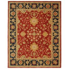 Safavieh Handmade Oushak Traditional Wool Rug