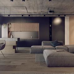 #DAarch #interior #design #art #architecture #modernarchitecture #loft #concrete #wood #metal