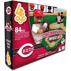 #Christmas Buy OYO Sports MLB Infield 84-Piece Building Block Set, Cincinnati Reds for Christmas Gifts Idea . Christmas  is really a stunning time of year, nevertheless let's be honest: It is stressful and means over-stimulating in case you have any trillion activities and individuals to determine. We've incl...
