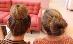 6 easy steps to the perfect sock bun! i can already do it (i do it a different way but this is easier) but just in case anyone else is curious