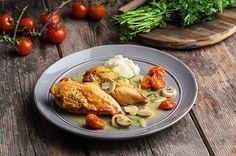 Κοτόπουλο φιλέτο με σάλτσα