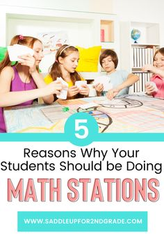 Wondering why math stations are important? Check out this blog post highlighting a bunch of skills that math stations will help develop in your kindergarten, 1st grade, 2nd grade, or other elementary students! Kindergarten Math Activities, Math Resources, Teaching Math, Maths, Teaching Ideas, Math Stations, Math Centers, Work Stations, Teamwork Skills