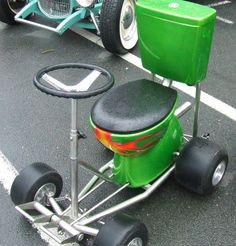 Toilet Go Kart