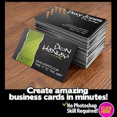 Create Your Own Graphics Right Now!: http://www.TheLogoCreator.co #Graphic #Logo #Design #Software #Business #Cards