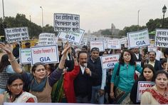 Thousands Come On The Streets Of #Delhi Against #JNU Crackdown