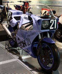 Yamaha FZR 750 OW74 TECH21 Shiseido Racing Team 8 Hours Suzuka 1985