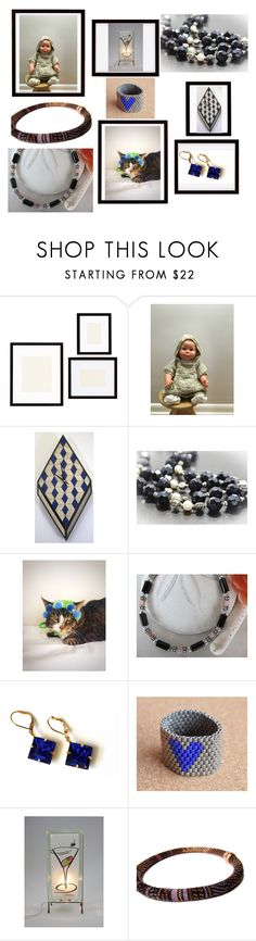 """Handmade"" by artistinjewelry ❤ liked on Polyvore featuring Pottery Barn"