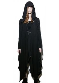 Witching Hour Draped Cloak