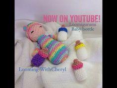 Rainbow Loom - Baby Bottle - Loomigurumi - Looming WithCheryl ( Looming With Cheryl ) Loomigurumi Tutorial is Now on YouTube! Charms / figures / gomitas / gomas / animals. Crochet hook only. Please Subscribe ❤️❤ m.youtube.com/user/LoomingWithCheryl